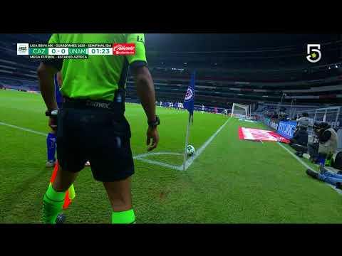 Gol de R. Alvarado   Cruz Azul 1 - 0 Pumas   Liga MX - Guardianes 2020 Apertura    LIGA BBVA MX