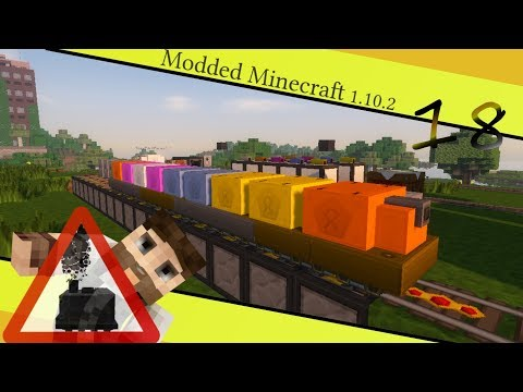 Self Managing Railcraft Depot - MyRail #18 [Modded Minecraft 1.10.2] Opencomputers