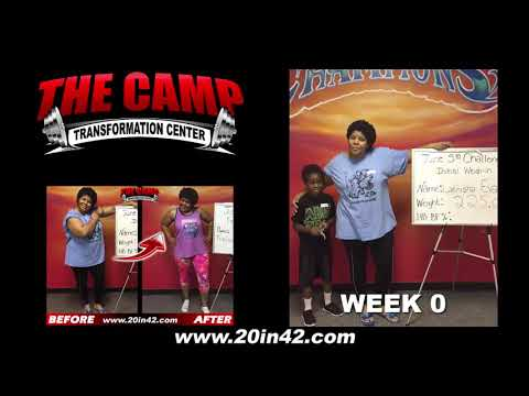 Arlington TX Weight Loss Fitness 6 Week Challenge Results - Latrisha Evans