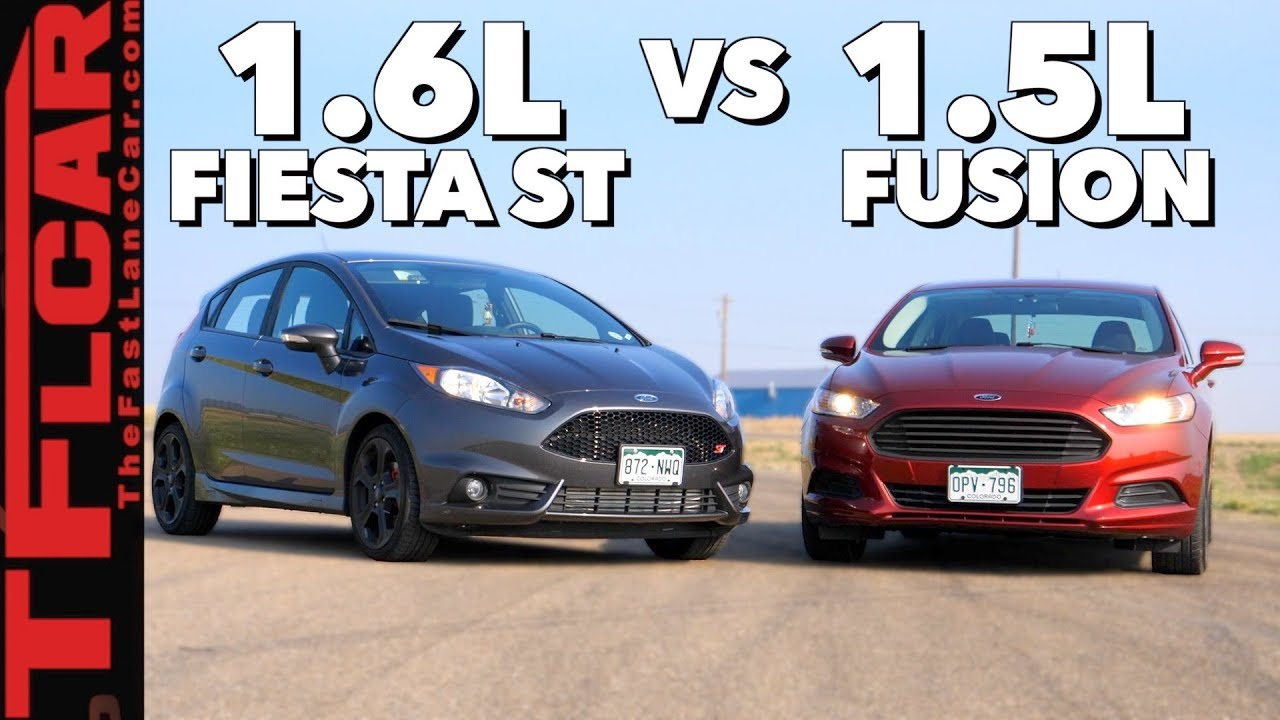 Ford Fusion St >> Gameshow Is A Ford Fusion Faster Than A Fiesta St Ep 9