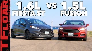 Gameshow: Is A Ford Fusion Faster Than a Fiesta ST? Ep.9