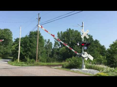 Railfanning Milton, Vermont - Late July 2016