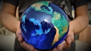 How to Make This Model of Earth  | Globe