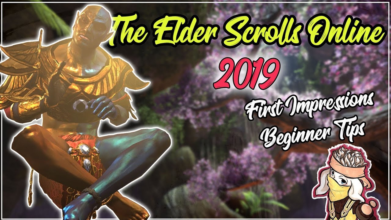 Eso Best Beginner Class 2019 The Elder Scrolls Online (ESO) in 2019   First Impressions