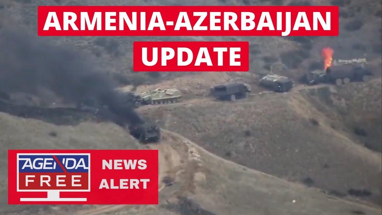 Armenia - Azerbaijan Fighting -- LIVE NEWS COVERAGE