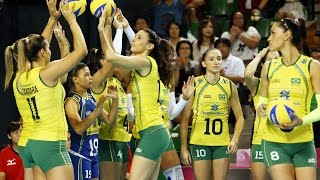 Download Video Rio Olympics 2016 : Women's Volley Ball Team of Brasil MP3 3GP MP4