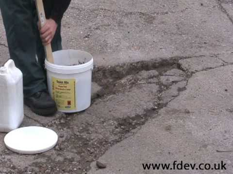 Concrete Floor And Wall Repair Youtube