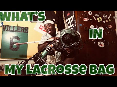 WHAT'S IN MY BAG?? / Lacrosse Gear Bag