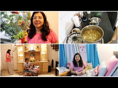 My Busy Indian Daily Morning Routine | Breakfast, Kid's School Tiffin, Husband's Office Lunch Box