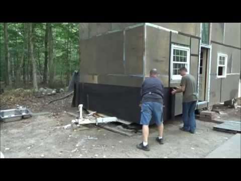 A Locking Door And Starting Tar Paper On My Tiny House S6