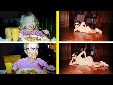 The Most Creative and Funny Recreations Of Childhood Photos Ever