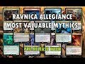 15 Most Valuable Mythic Cards | MTG Ravnica Allegiance Prerelease