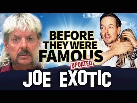 Joe Exotic | Before They Were Famous | Tiger King: Murder, Mayhem and Madness