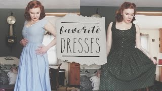 My Favorite Dresses || Vintage & Reproduction