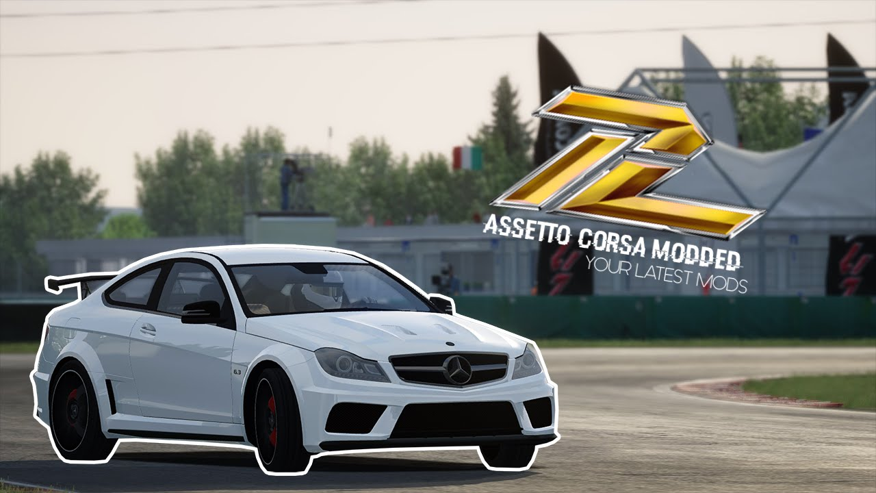 Assetto Corsa - Mercedes-Benz C63 AMG Black Series + DOWNLOAD