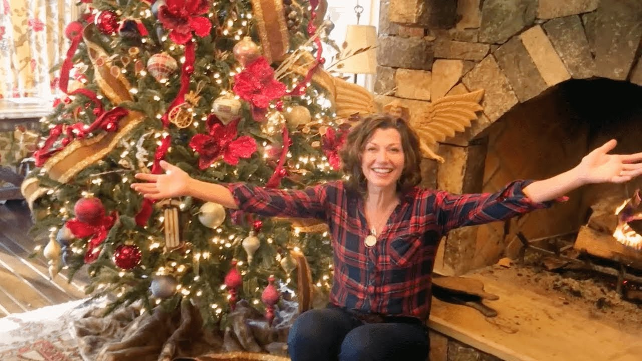 Amy Grant Christmas.Amy Grant Balsam Hill Christmas Tree