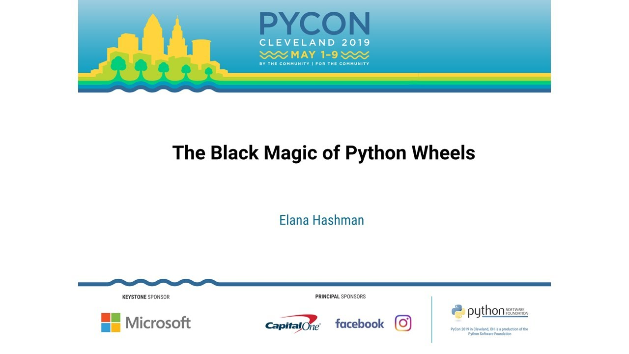 Image from The Black Magic of Python Wheels