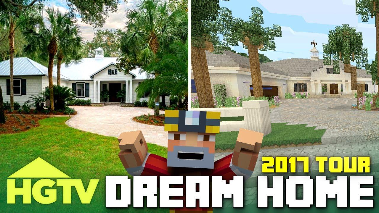 Minecraft Xbox One Hgtv Dream Home 2017 Tour Youtube