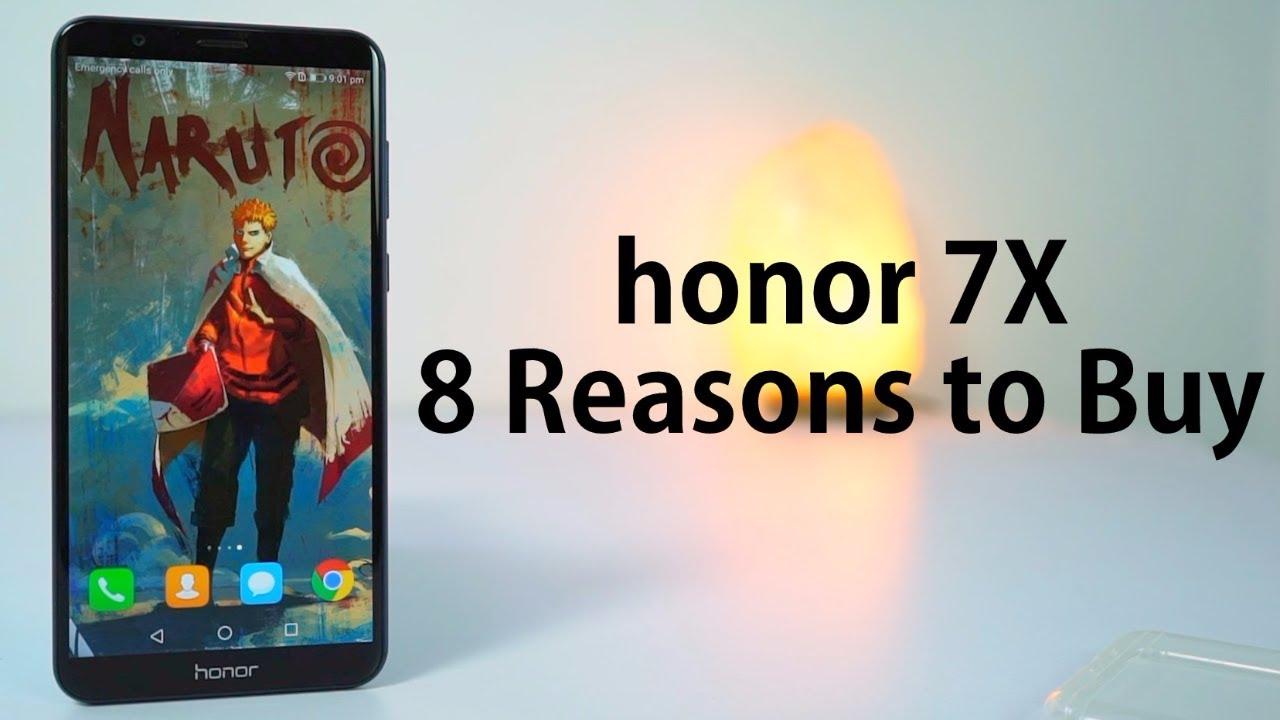 8 Reasons to buy Honor 7x - YouTube