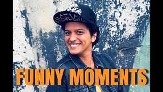 BRUNO MARS - FUNNY MOMENTS