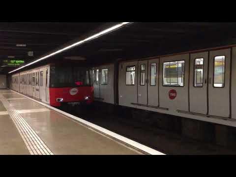 Barcelona Metro Besos Station