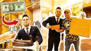 Video WHAT CAN I GET AT LOUIS VUITTON FOR $20? (GOT A BAG) download MP3, 3GP, MP4, WEBM, AVI, FLV Juli 2018