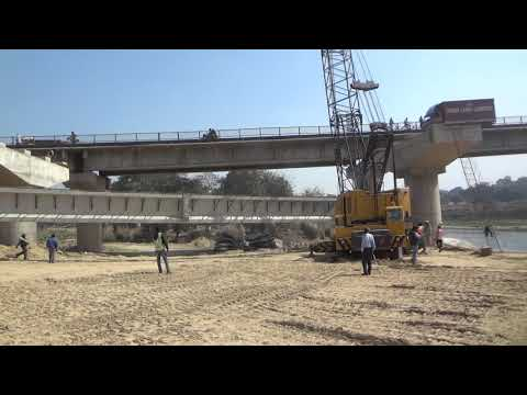 85 TONS GARDER LIFTED BY TWO HEAVY CRANES