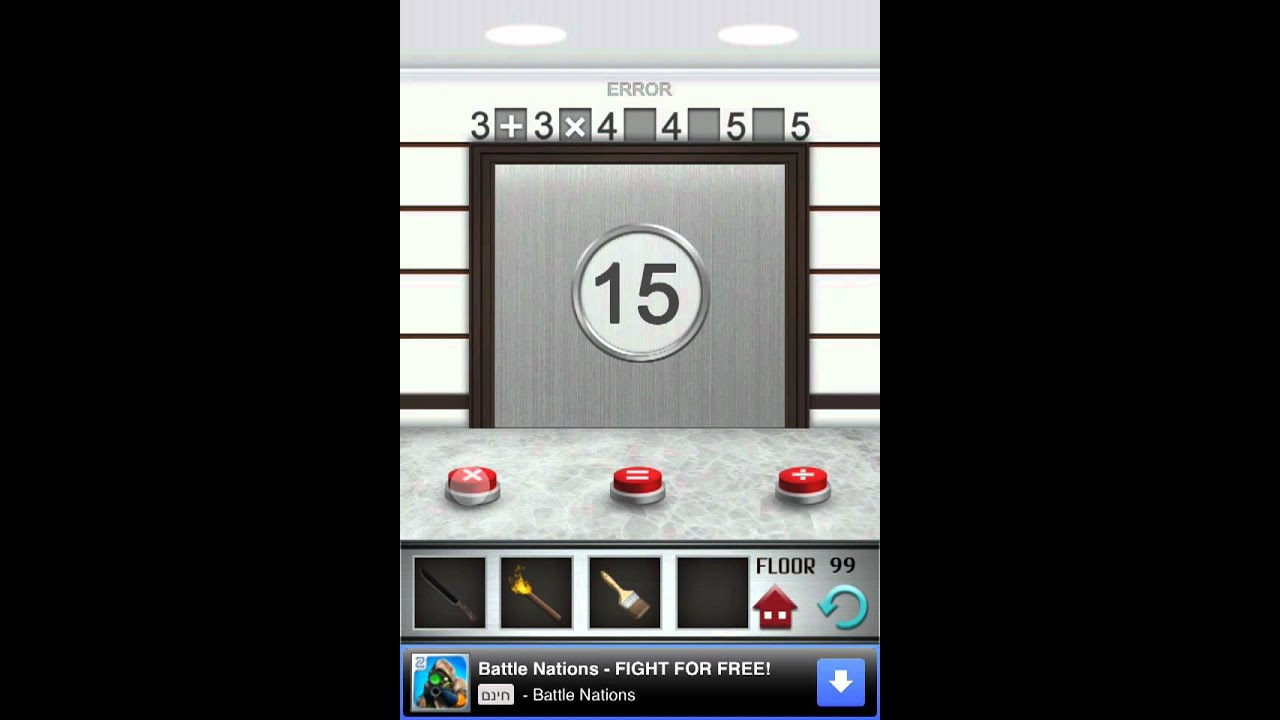 100 Floors Level 99 Walkthrough Youtube