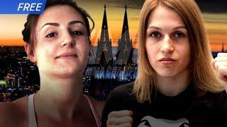 Frauen-MMA at its best:  HÜBSCH vs. DALISDA (Full Fight GMC 21)