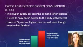 Yr 12 Oxygen use during exercise