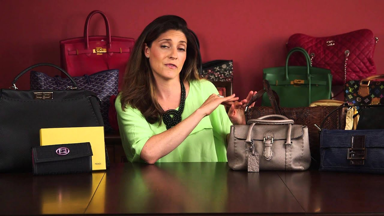 06dafd5c0538 How to Spot a Fake Fendi Bag  Part 4 - YouTube