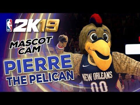 Pierre the Pelican (New Orleans Pelicans) | NBA2K19 Mascot Cam