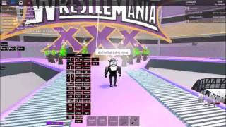 WWE WRESTLEMANIA 30 The Undertaker Roblox Entrance