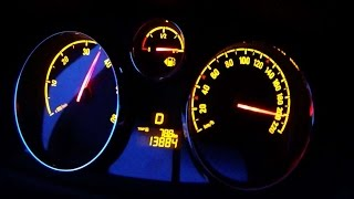 Opel Antara 2.2 cdti 0-100 top speed test