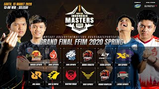 [2020] Free Fire Indonesia Masters 2020 Spring | Grand Final