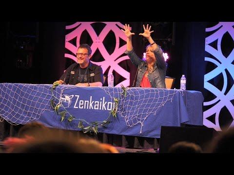 Zenkaikon 2017  The Cowboy Bebop Panel Steve Blum & Mary Elizabeth McGlynn
