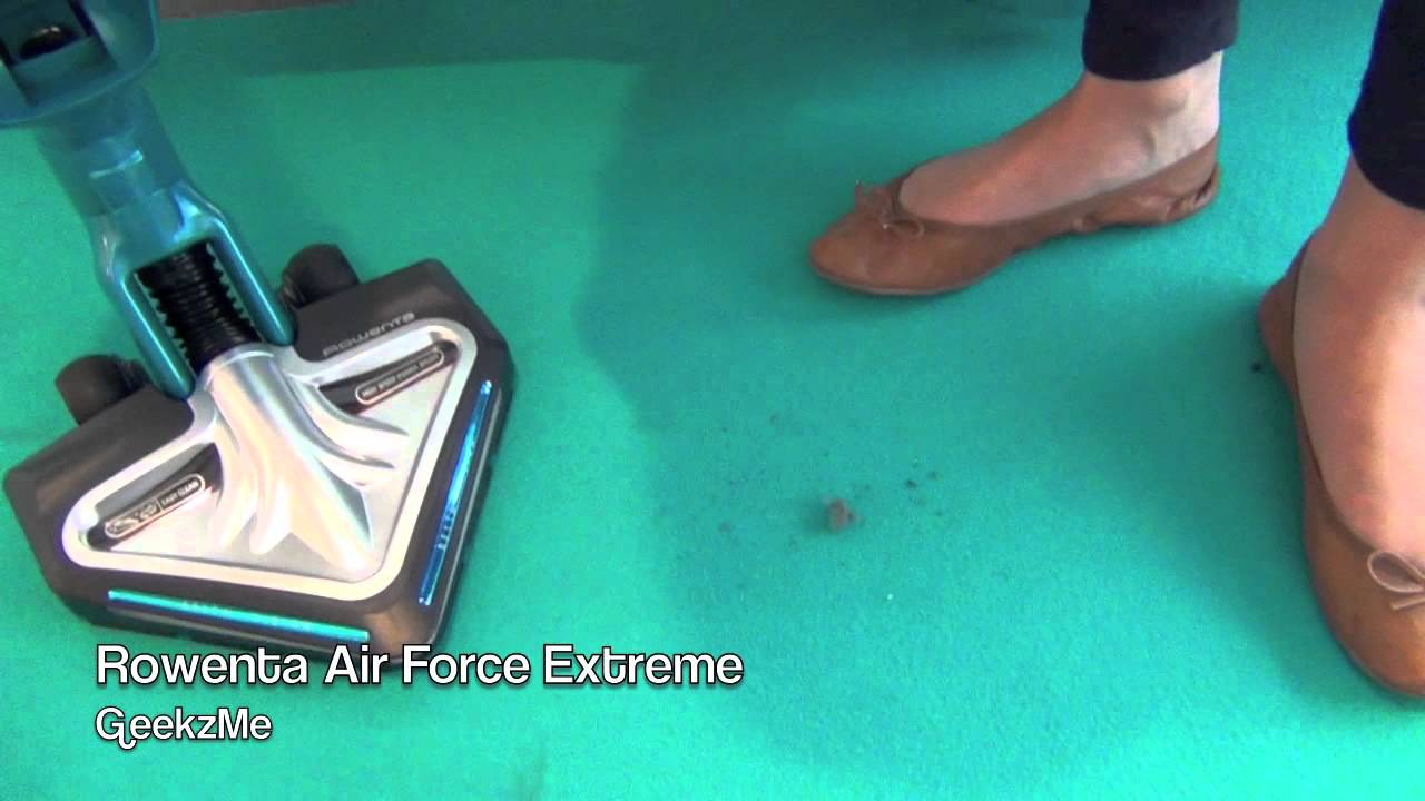 reportage high tech aspirateur rowenta air force extreme. Black Bedroom Furniture Sets. Home Design Ideas