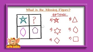 Missing Object Series - Complete the Figure Sequence