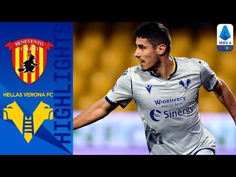 Benevento 0-3 Hellas Verona | L'Hellas strega il Benevento in trasferta! | Serie A TIM