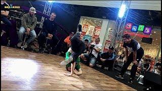 TIP TOP T vs MAXIMOVE - Finał Solo LAVINA BREAKING SESSION Kiev, Ukraina 2018