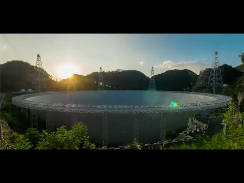 Behind FAST: the world's largest filled-aperture radio telescope