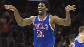 Joel embiid 2016-2017 nba season highlights (updated)