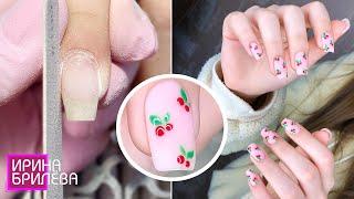 МАНИКЮР в 14 лет 😍 НЯШНЫЙ дизайн ногтей 😍 Ирина Брилёва
