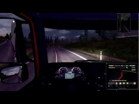 Euro Truck Simulator 2 - TruckSim Map 2 0 - Geneve to Lille - Part 8