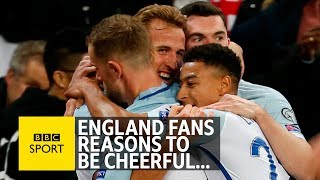 Reasons to be cheerful about England qualifying for World Cup 2018 - BBC Sport