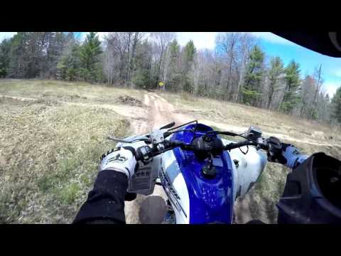 ORV Trail Riding In Luzerne Michigan With The Crew (Raptor 700r)