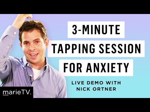 Nick Ortner's Tapping Technique To Calm Anxiety U0026 Stress In 3 Minutes