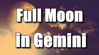 Full Moon in Gemini 2014 December | Raising Vibrations