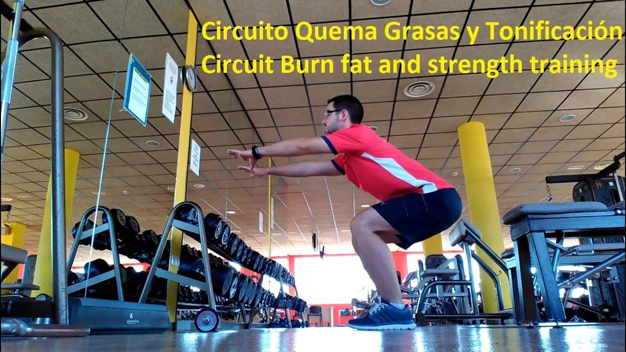 Circuito Quemagrasas : Circuito quema grasas y tonificaciÓn. circuit training workout gym