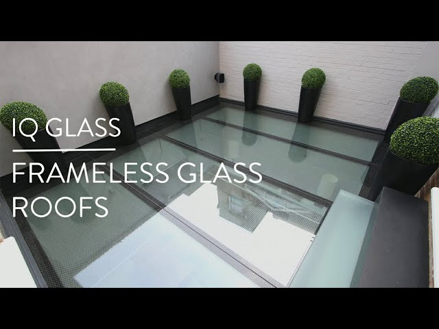Frameless Glass Roofs by IQ Glass